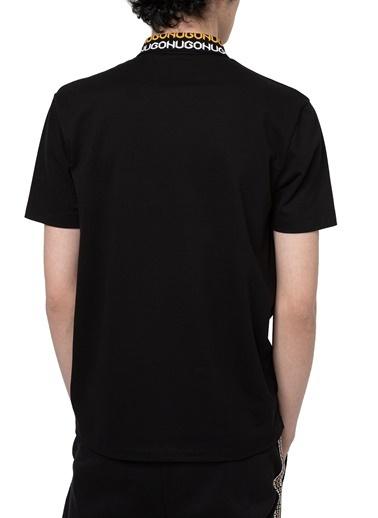 Hugo Boss  % 100 Pamuklu Polo T Shirt Erkek Polo 50448861 001 Siyah